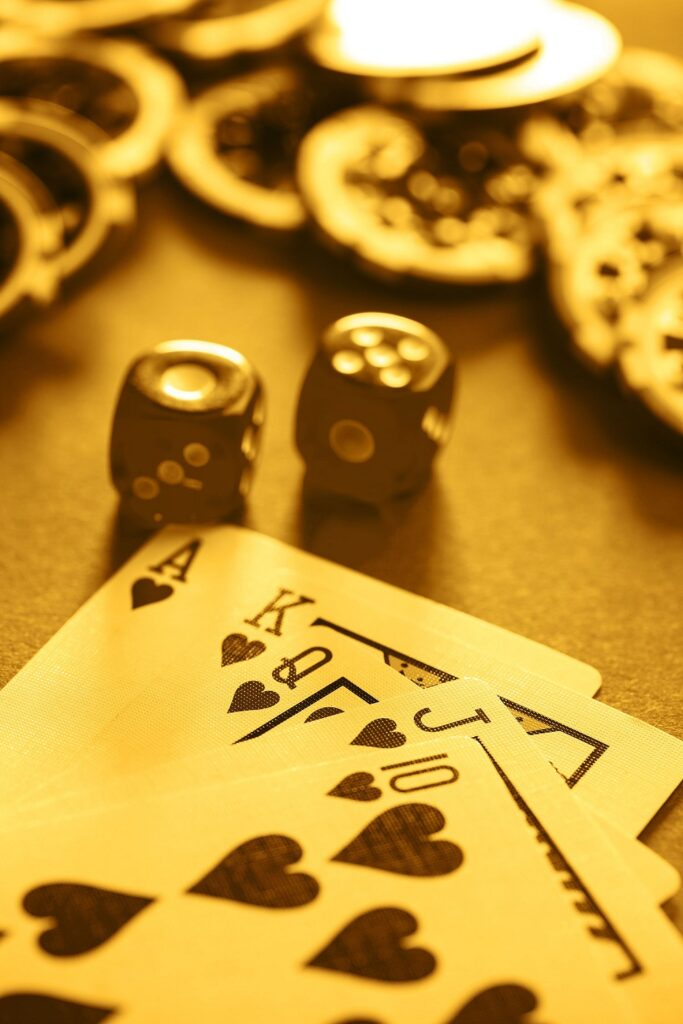 Poker cards & Dice